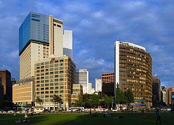 English: Seoul Plaza.