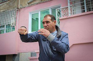 Serafim Todorov Bulgarian boxer