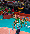 Serve in volleyball London 2012.jpg