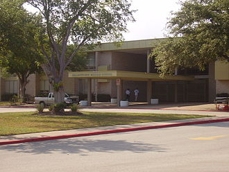 Sharpstown High School - The original campus for Sharpstown Junior-Senior High School. This facility is now Sharpstown International School.