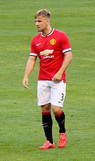 Luke Shaw English association football player