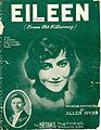 Sheet music cover - EILEEN - FROM OLD KILLARNEY (1914).jpg