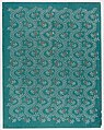 Sheet with meandering vine pattern with gold flowers Met DP886830.jpg