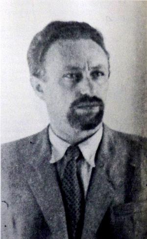 Israel Eldad - Israel Eldad. Circa 1948.