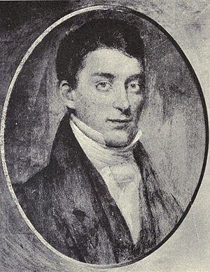 Sheldon Dibble - Portrait painted 1838