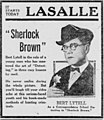 Sherlock Brown 1922 newspaper.jpg