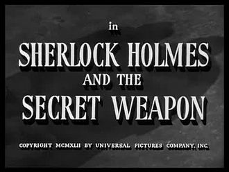 Fichier:Sherlock Holmes and the Secret Weapon(1943).webm