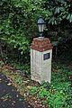 Sherrard-Fenton House - iron lamp on pedestal at driveway entry.jpg