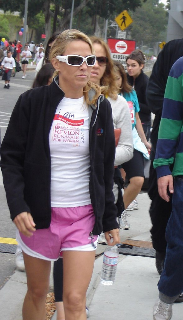 Sheryl Crow at Revlon Run Walk 2007
