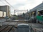 Shin-Keisei Shin-Kamagaya Station track No.2 201807 01.jpg