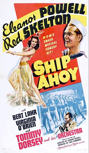 Ship Ahoy - Theatrical poster