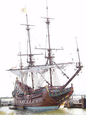 Ship Batavia - replica - in the Netherlands