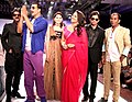Shishupal Singh, Akshay Kumar, Shalika, Sonakshi Sinha, Sharad Patel, Sharad Raghav promote 'Rowdy Rathore' at the Rajasthan Fashion Week. (4).jpg