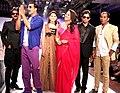 Shishupal Singh, Akshay Kumar, Shalika, Sonakshi Sinha, Sharad Patel, Sharad Raghav promote 'Rowdy Rathore' at the Rajasthan Fashion Week. (4).jpg