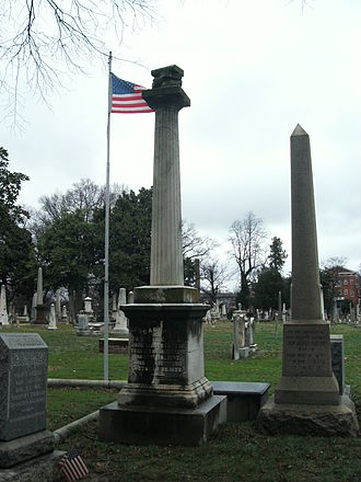 John M. Patton - Grave at Shockoe Hill Cemetery