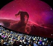 Show at the Athens Planetarium