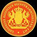 Siegelmarke Grossherz. Badisches Oberstkammerheren-Amt W0313302.jpg