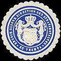 Siegelmarke Grossherzoglich Oldenburgische Direction der Strafanstalten zu Vechta W0226230.jpg
