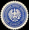 Siegelmarke Königliche Eisenbahn - Direction Halle an der Saale - Kanzlei W0229510.jpg
