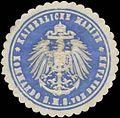 Siegelmarke K. Marine Kommando S.M.S. von der Tann W0357642.jpg