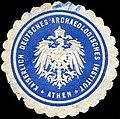 Siegelmarke Kaiserlich Deutsches Archaeologisches Institut Athen W0300957.jpg