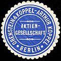 Siegelmarke Orenstein & Koppel Aktiengesellschaft.jpg