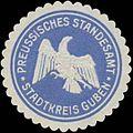Siegelmarke Preussisches Standesamt Stadtkreis Guben W0334721.jpg