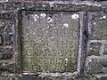 Sign next to the bridge over the river Dee at Cowgill church - geograph.org.uk - 945345.jpg