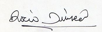 Signature Rocio Durcal