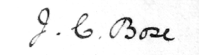 Signature of J.C.Bose signature.png