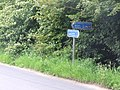 Signpost On National Cycleway No.13 - geograph.org.uk - 463440.jpg