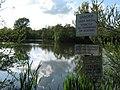 Signs beside Singleton Lake - geograph.org.uk - 1279185.jpg