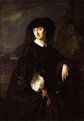 Portrait of Julia Simmlerowa née Hoeggenstaller, artist's wife.