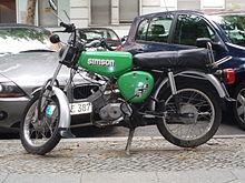 Simson Motorcycle Cc