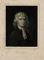 Sir Isaac Newton. Line engraving by Baumann after E. Seeman, Wellcome V0004277.jpg