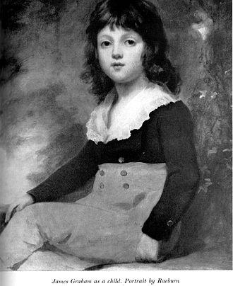 Sir James Graham, 2nd Baronet - Sir James Graham as a child