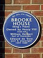Site of Brooke House plaque - BSix Sixth Form Sixth Form College, Kenninghall Road, Lower Clapton.jpg