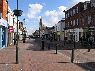 Sittingbourne industrial town in Kent, England