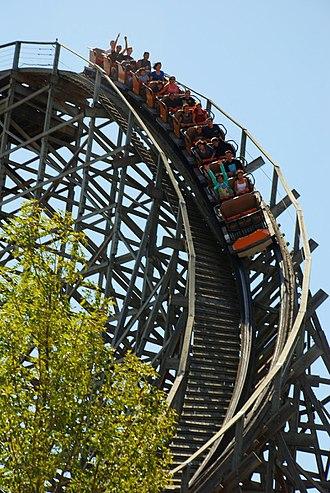 The Joker (Six Flags Discovery Kingdom) - Roar in 2009
