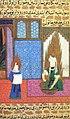 Siyer-i Nebi - Muhammad und Chadidscha () führen die ersten rituelle Waschung -wudhu- durch.jpg