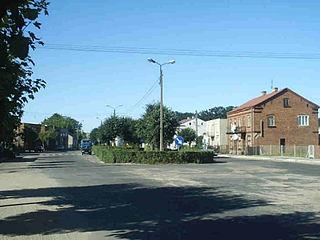 Skrwilno Village in Kuyavian-Pomeranian, Poland