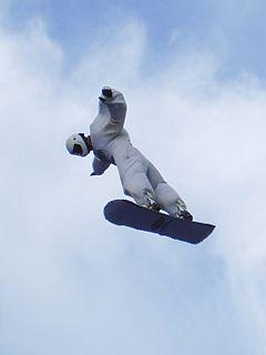 Skysurfing type of skydiving
