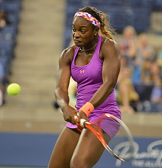 Sloane Stephens - Stephens at the 2013 US Open