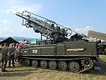 Slovak 2K12M2 Kub-M2 at SIAF 2017.jpg