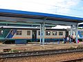 Small Regional Diesel Train - Rosarno Train Station, Italy - 4 Sept. 2010.jpg