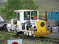 Small engineering locomotive at Rannoch station.jpg
