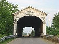 Smith Covered Bridge, western portal.jpg
