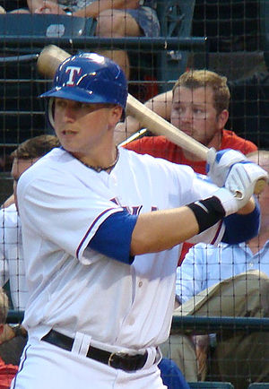 Justin Smoak - Smoak as a rookie for the Texas Rangers in 2010