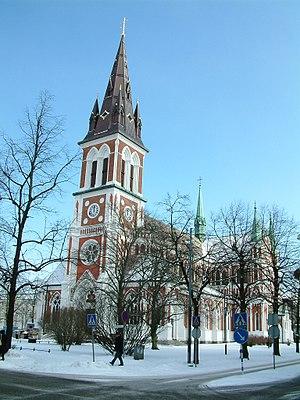 Sofia Church, Jönköping - Image: Sofiakyrkan en hiver, Jönköping