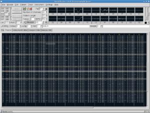 SoundTracker (Unix) - Image: Soundtracker